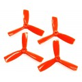DAL 4x4.5 Triblade BullNose Orange